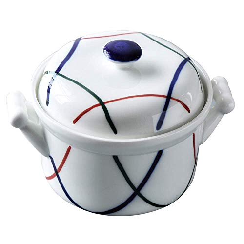 O&YQ Household Storage Bowls Japanese Thai Ceramic Oatmeal Rice Bowl, Pudding Dessert Bowl, Small Household Bowl, s