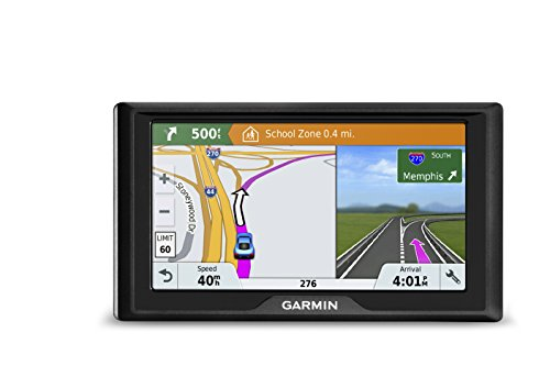 Garmin Drive 51 USA+CAN LMT-S GPS Navigator System with Lifetime Maps, Live Traffic and Live Parking, Driver Alerts, Direct Access, TripAdvisor and Foursquare data
