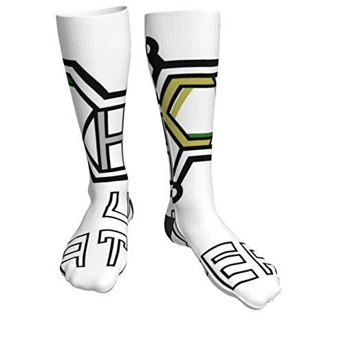 185 Crew Socken,Thc U Später Dicke Frauen Socken, Frauen Dekorative Mode Socken Für Kletterreisen,50cm