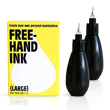 Inkbox Freehand Ink Temporary Tattoos | Lasts Up to 2 Weeks | Perfect for Artists Long Lasting Temp Kit Tattoos and Temporary Tattoo Drawing  1 Ounce  Pack of 1