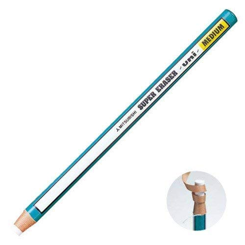 Mitsubishi Uni Pencil Type Eraser - Super Eraser - Medium - Ek-100