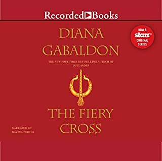 The Fiery Cross audiobook cover art
