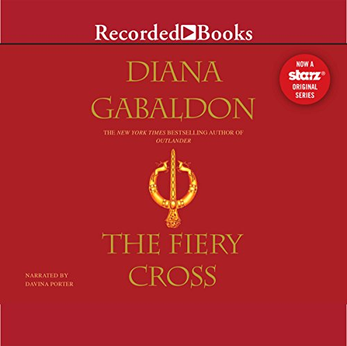 The Fiery Cross     Outlander, Book 5              By:                                                                                                                                 Diana Gabaldon                               Narrated by:                                                                                                                                 Davina Porter                      Length: 55 hrs and 30 mins     22,276 ratings     Overall 4.8