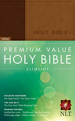 Premium Value Slimline Bible-NLT