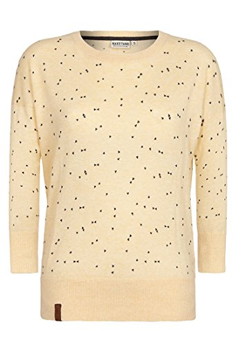 Naketano Damen Sweater Maja Triangles II Sweater