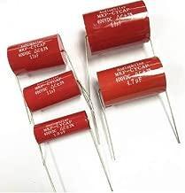 FLAMEER 82uF 450V Voltios Capacitor Electrol/ítico Amplificador Audio Fuente De Alimentaci/ón 40x16mm 5pcs