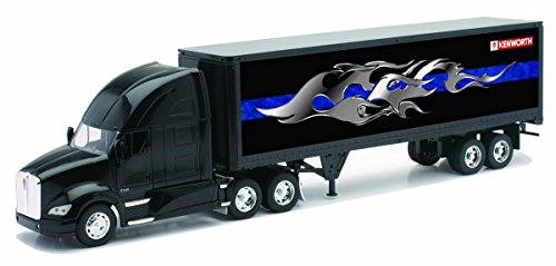 New Ray - 10273 A - Véhicule Miniature - Camion Kenworth - Remorque Conteneur T700