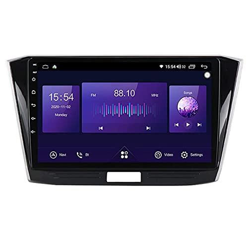 Navegación por satélite estéreo para automóvil Adecuado para Volkswagen Passat B8 2015-2018 Unidad principal estéreo GPS Capacitiva táctil HD Carplay Radio Multimedia Sistema de radio incorporado Ras