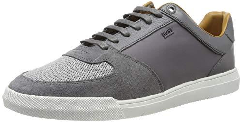 BOSS Cosmo_Tenn_mx, Herren Sneaker, Grau (Meduim Grey 030), 43 EU (9 UK)