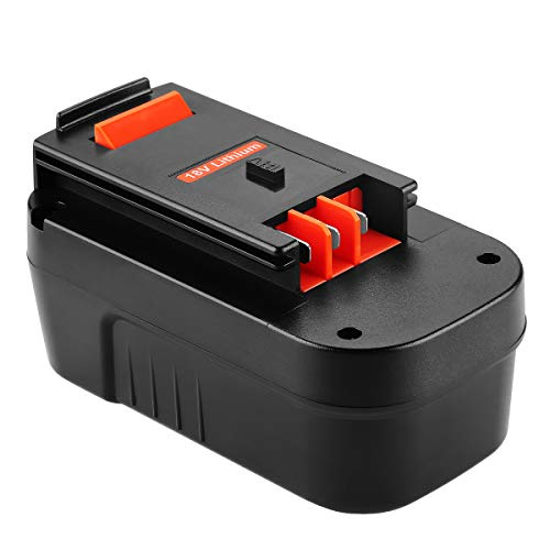 Powilling 18V 5.0Ah HPB18 Replacement Lithium-Ion Battery for Black and Decker 18 Volt Battery Firestorm 18v Battery HPB18-OPE 244760-00 A1718 FS18FL FSB18 Black Decker 18V Battery
