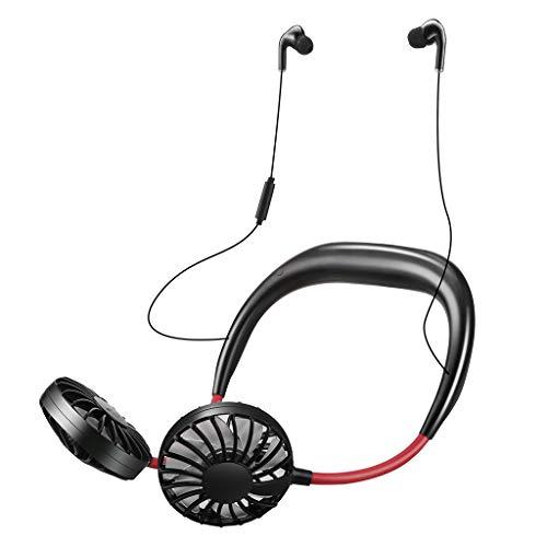 DUTYLOVE Auriculares Bluetooth Portátil USB Recargable Tirilla Aficionado al Deporte Perezoso Cuello Colgante Bluetooth Auriculares para Oficina Deportiva
