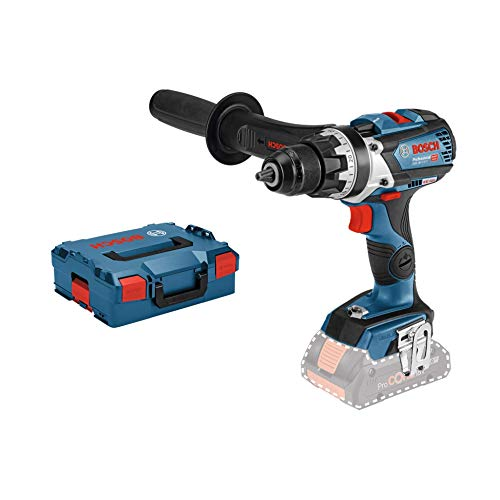 Bosch Professional 06019G0102 Perceuse-Visseuse Sans Fil GSR 18 V-85 C (18 V, Ø de Vissage Maxi. : 12 mm, Couple Maxi. : 110 Nm, L-BOXX, Sans Batterie) Bleu 1