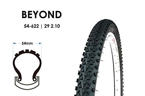 29 Zoll Fahrrad Reifen 54-622 MTB Tire 29x2.10 Mountain Bike Mantel Decke Black