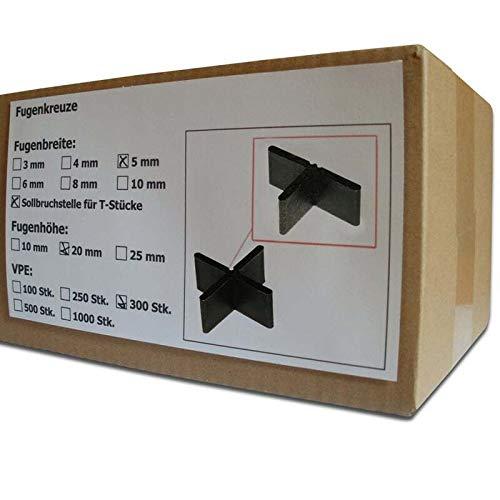 250 St/ück 60 x 3 x 20 mm 3 versch Verpackungseinheiten Fugenkreuz stapelbar
