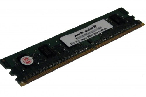 4GB Memory Upgrade for DFI LANPARTY DK X58-T3EH6 DDR3 PC3-10600 Non-ECC DIMM RAM (PARTS-QUICK Brand)