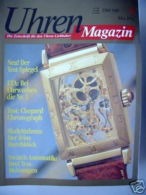 Uhren Zeitschrift Uhren-Liebhaber 5/1992 ETA Uhrwerken