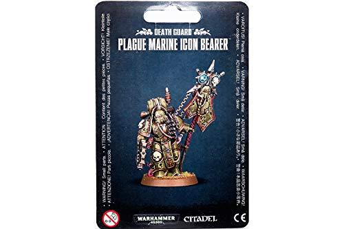 Games Workshop 99070102006' Death Guard Plague Marine Icon Bearer Miniature