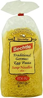 Bechtle Traditional German Cage Free Egg Pasta Soup Noodles Thin -- 17.6 oz - 2 pc