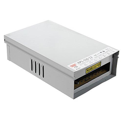 Tutoy AC 180-264V à DC 12V 150W Adaptateur de conducteur d'alimentation pour Les Bandes LED étanche