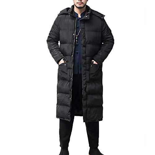hood long jacket men - 7