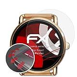 atFoliX Schutzfolie kompatibel mit Fossil Q Wander Folie, entspiegelnde & Flexible FX Bildschirmschutzfolie (3X)
