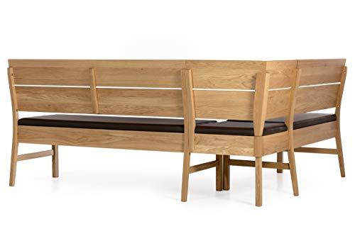 Amazon Marke -Alkove - Hayes - Moderne Eckbank mit gepolsterter Sitzfläche, Wildeiche - 8