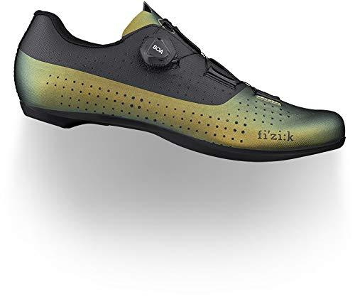 fizik Tempo Overcurve R4 - Zapatillas de ciclismo para hombre, talla 43 2021, color negro