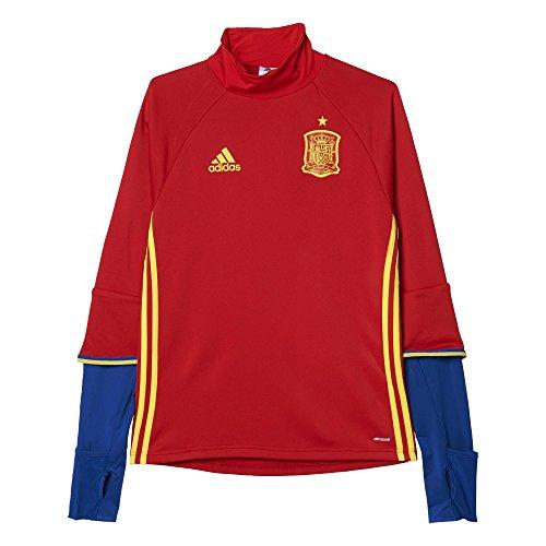 adidas UEFA Euro 2016 Camiseta Manga Larga de Entrenamiento, Hombre, Rojo/Amarillo/Azul (Escarl/Amabri/Reauni), L