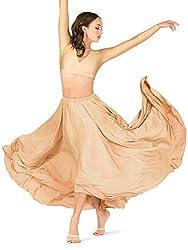 Natalie Dancewear Womens Lyrical Flow Collection Floor Length Skirt N9112
