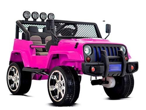 fit4form Kinder Elektroauto 4x4 Sunshine Sport Pink 12V Kinderfahrzeug Kinderauto elektrisch rosa Allrad