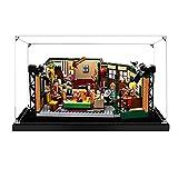 Hosdiy Acrílico Vitrina Caja de Exhibición Compatible con Lego 21319 Friends Central Perk ( Solo Vitrina, Sin Lego Modelo Incluido )
