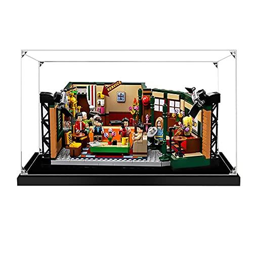 Hosdiy Acrylique Vitrine pour Lego Friends Central Perk - Vitrine pour Lego 21319 (Seul Vitrine, sans Lego Modèle)