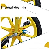 LIfav 16 Zoll Kinder Einrad, Höhenverstellbarer Griffige Reifen Einzel-Runde Gleichgewicht Bike Radfahren, Für Anfänger Kinder Erwachsene Übung Fun Fitness,Blau - 4