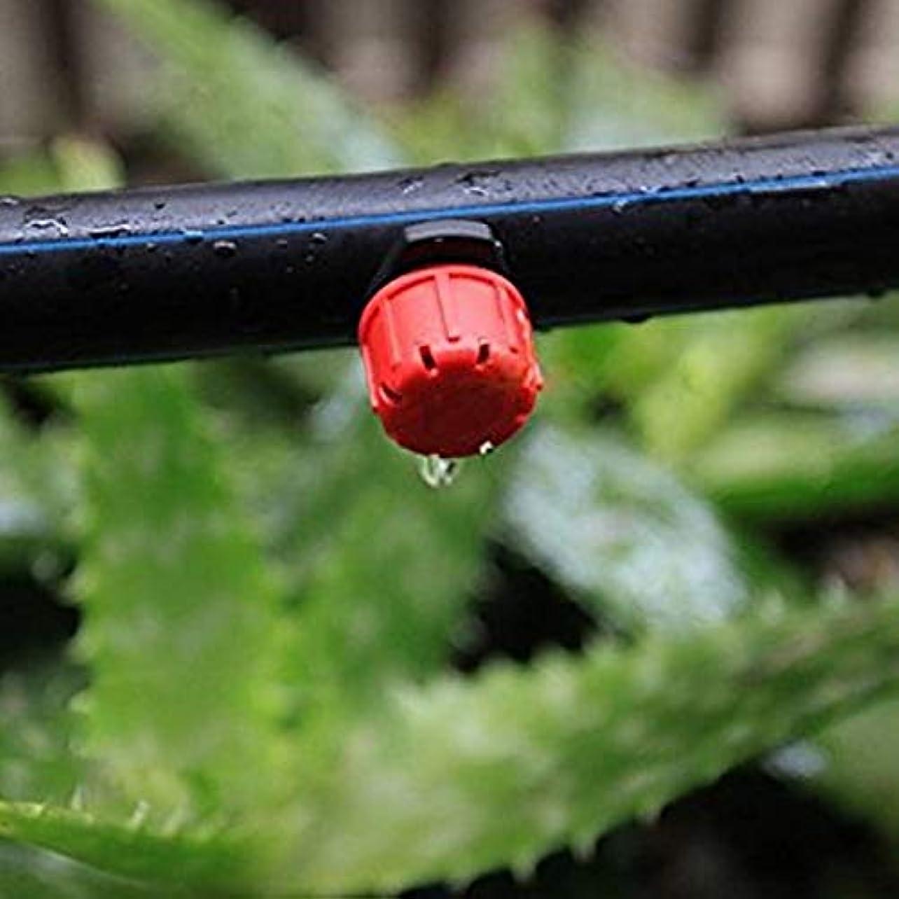 眠るフェード形式ガーデン用品 200個の調節可能な灌漑スプリンクラー点滴灌漑システム、ドリップ調節可能なエミッタ