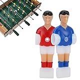 Demeras Figura de fútbol de mesa Mini Humanoid Doll Accesorio para juego de fútbol de mesa