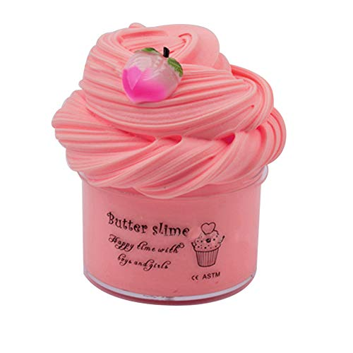 Fuffly Clay, Peach Butter Slime Cloud Slime Putty Stress Relief DIY Sludge Toy 7oz 200ml