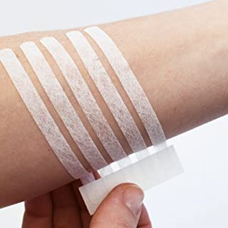 Eurosuture Skin Closure 1/2 x 4 inches Sterile Suture Strips,  Dynamic Adherence and Superior Security for Wounds – 2 envelopes of 6 Strips Each (12 Strips)