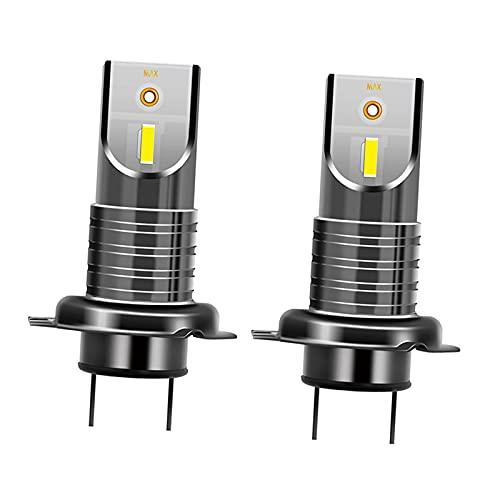 B Blesiya H7 110W 5050 CSP Bombillas LED para Faros Delanteros 6000K Chips LED Extremadamente Brillantes Bombilla de Repuesto para automóviles, Camiones,