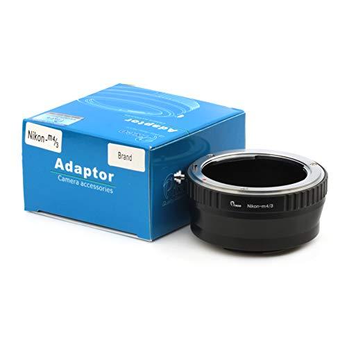 Pixco Adaptador de lente para lente Nikon a Micro Cuatro Tercios 4/3 GX8 G7 GF7 GH4 GM1 GX7 GF6 GH3 G5 GF5 GX1 GF3 G3 Cámara réflex digital