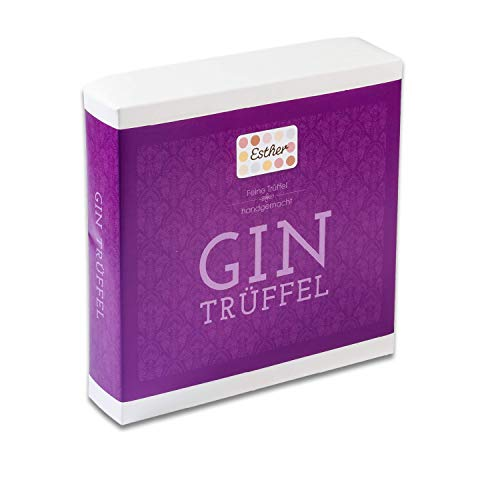 Esther Confiserie - Gin Trüffel 9er Präsentpackung Inhalt 102g