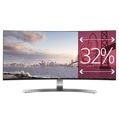 LG IT Products 34UC98-W.AEU Monitor da 86,4 cm (34 pollici) (HDMI, Thunderbolt 2, DisplayPort, USB, 5 ms)