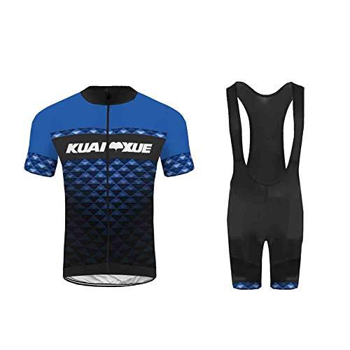 Uglyfrog Nuevo Hombres de Bicicleta con 20D Gel Acolchado MTB Ciclismo Tirantes Culotte Pantalones Cortos Culotes Pro SstBL01