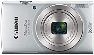 Canon PowerShot ELPH 180 Digital Camera (Silver) + 32GB SDHC Memory Card + Flexible Tripod + AC/DC Turbo Travel Charger + Replacement Battery + Protective Camera case with Deluxe Bundle