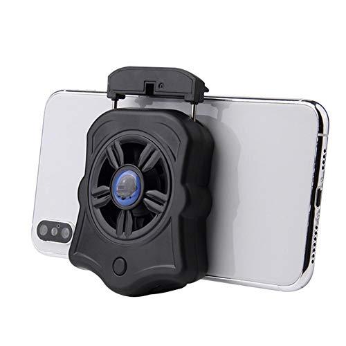 Sanmubo Trading Enfriador de Teléfono Enfriador de Teléfono Portátil, Radiador de Teléfono Móvil con Almohadilla de Silicona para Todo Tipo de Teléfonos Móviles (Ancho 2.5-3.3 Pulgadas)