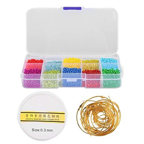Cuentas de plástico/resina para hacer anillos