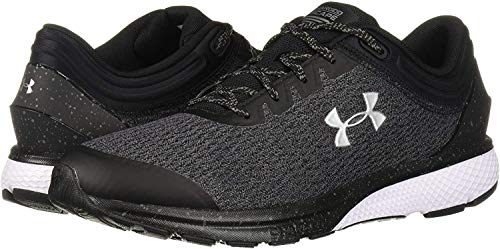 Under Armour Men's Charged Escape 3 Running Shoe, Black/White, 10