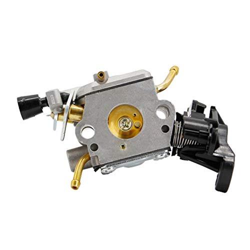 Duradero For Husqvarna 445 450 E carburador JONSERED CS2245S 506450401 Carb motosierra for Zama C1M-el37b Reemplazar carburador (Color : Silver)