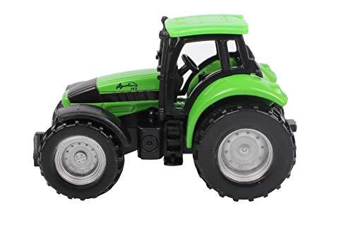 Siku 0859, DEUTZ-FAHR Agroton, Metall/Kunststoff, grün, Spielzeugtraktor für Kinder