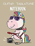 Guitar Tablature Notebook: Blank Guitar Tab Paper | 110 Page