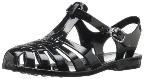 Chinese Laundry Women's Feliz Jelly Sandal, Black, 7 M US